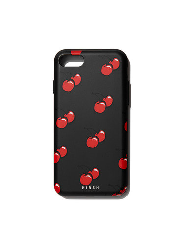CHERRY BUMPER PHONE CASE HA [BLACK]