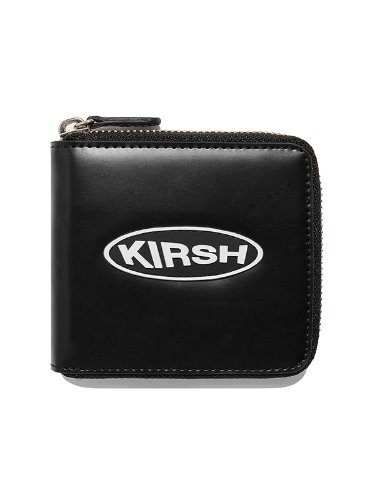 KIRSH POCKET CIRCLE LOGO WALLET IA [BLACK]
