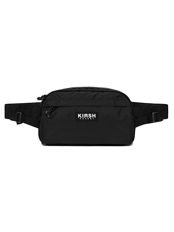 KIRSH POCKET HIPSACK HS [BLACK]