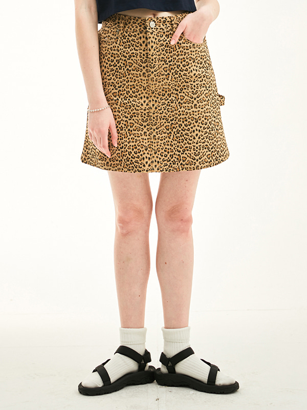 CARPENTER SKIRT HS [LEOPARD]