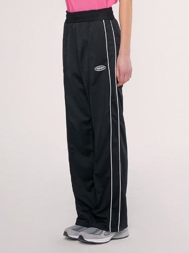 TRACK PANTS IS [BLACK]
