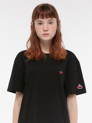 KIRSH STANDARD T-SHIRT IH 1+1 [BLACK]