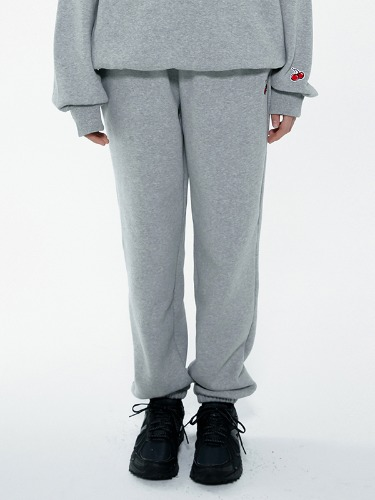 (8월26일 예약발송)SMALL JOGGER PANTS CHERRY IA [GRAY]