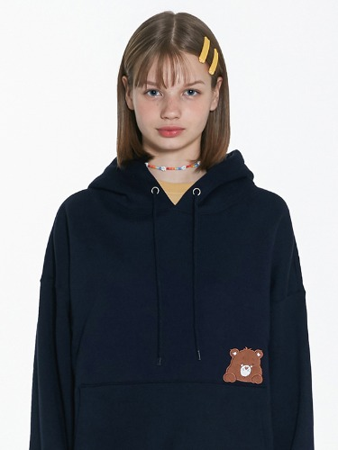 CARE BEAR BABY POCKET HOOD [NAVY]