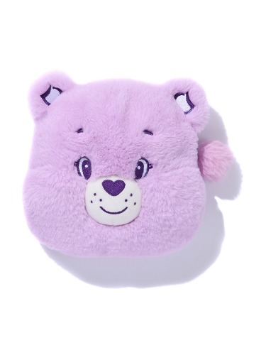 CARE BEAR FACE POUCH [LIGHT VIOLET]