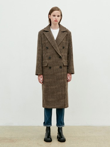 Oversize Dubble Coat [Dark Beige]