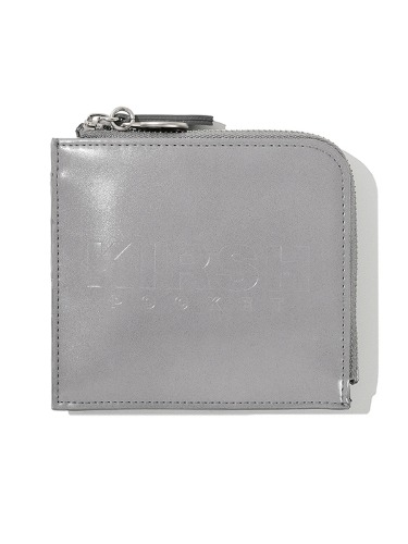 KIRSH POCKET LOGO HALF WALLET JS [LIGHT GRAY]