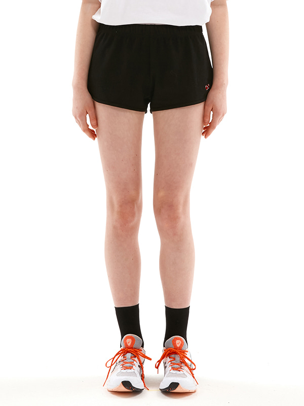 CHERRY SHORT PANTS JS [BLACK]