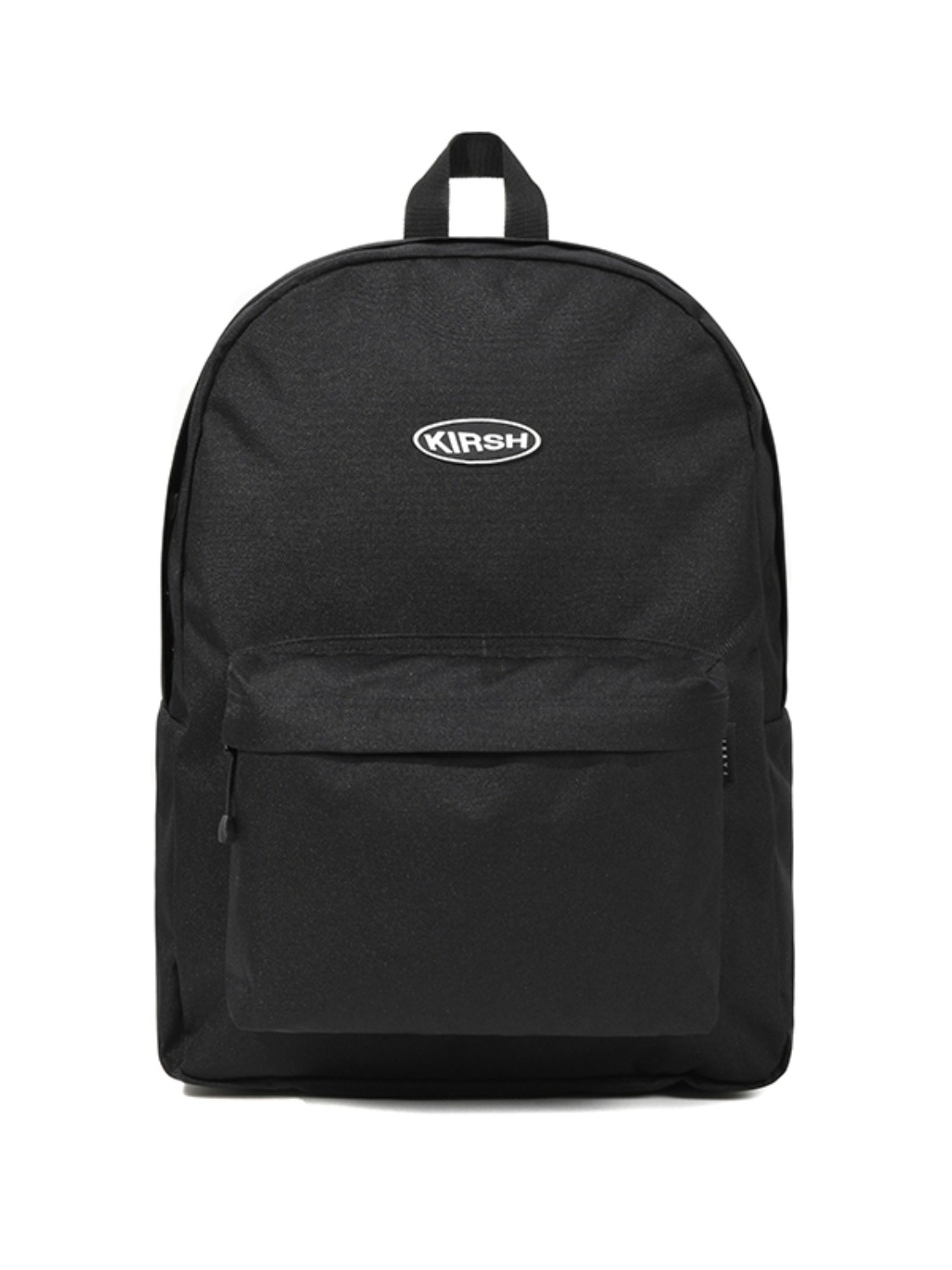 KIRSH POCKET CIRCLE LOGO BACKPACK JS [BLACK]