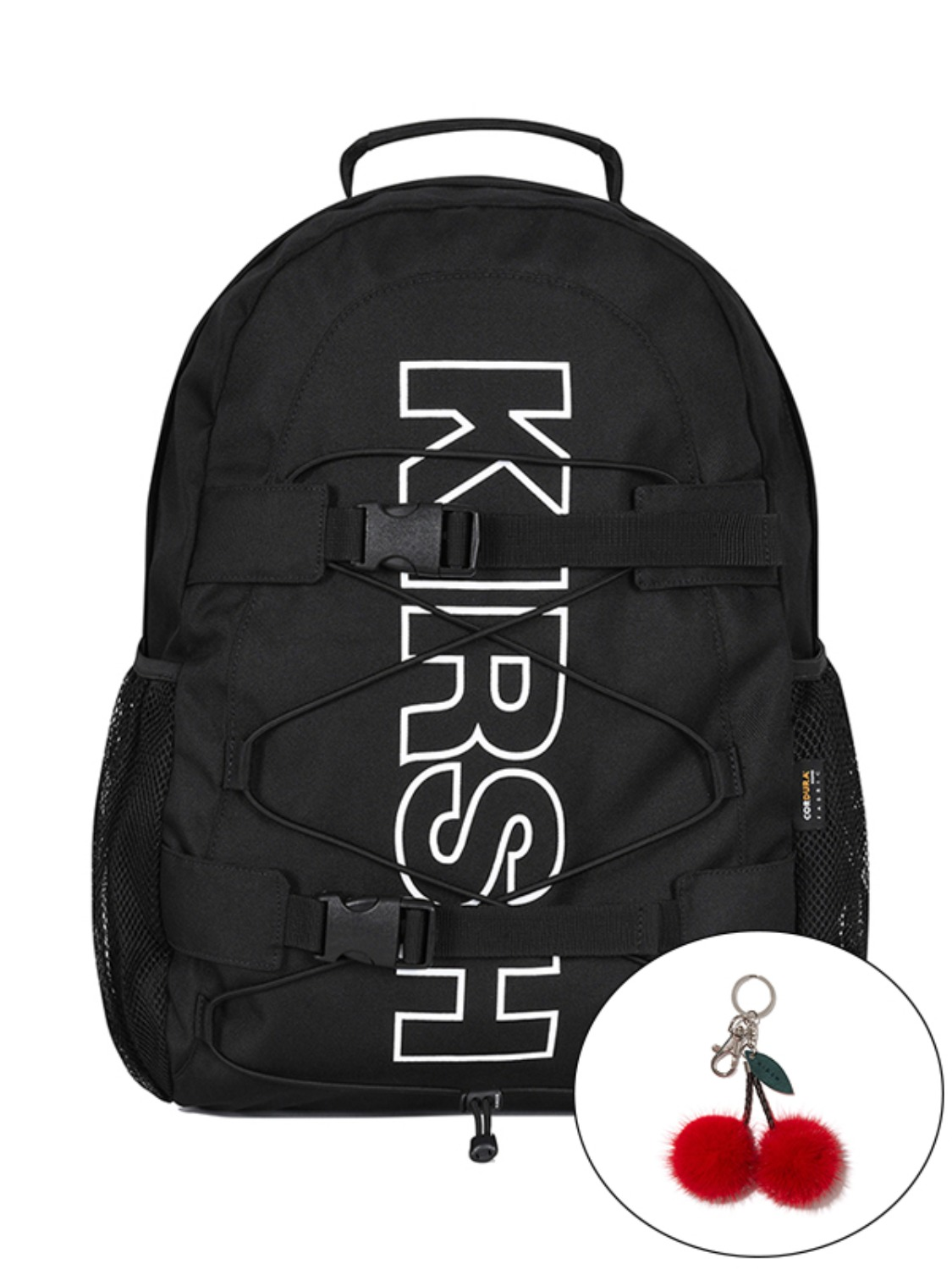 KIRSH POCKET SPORTS BACKPACK JA [BLACK]