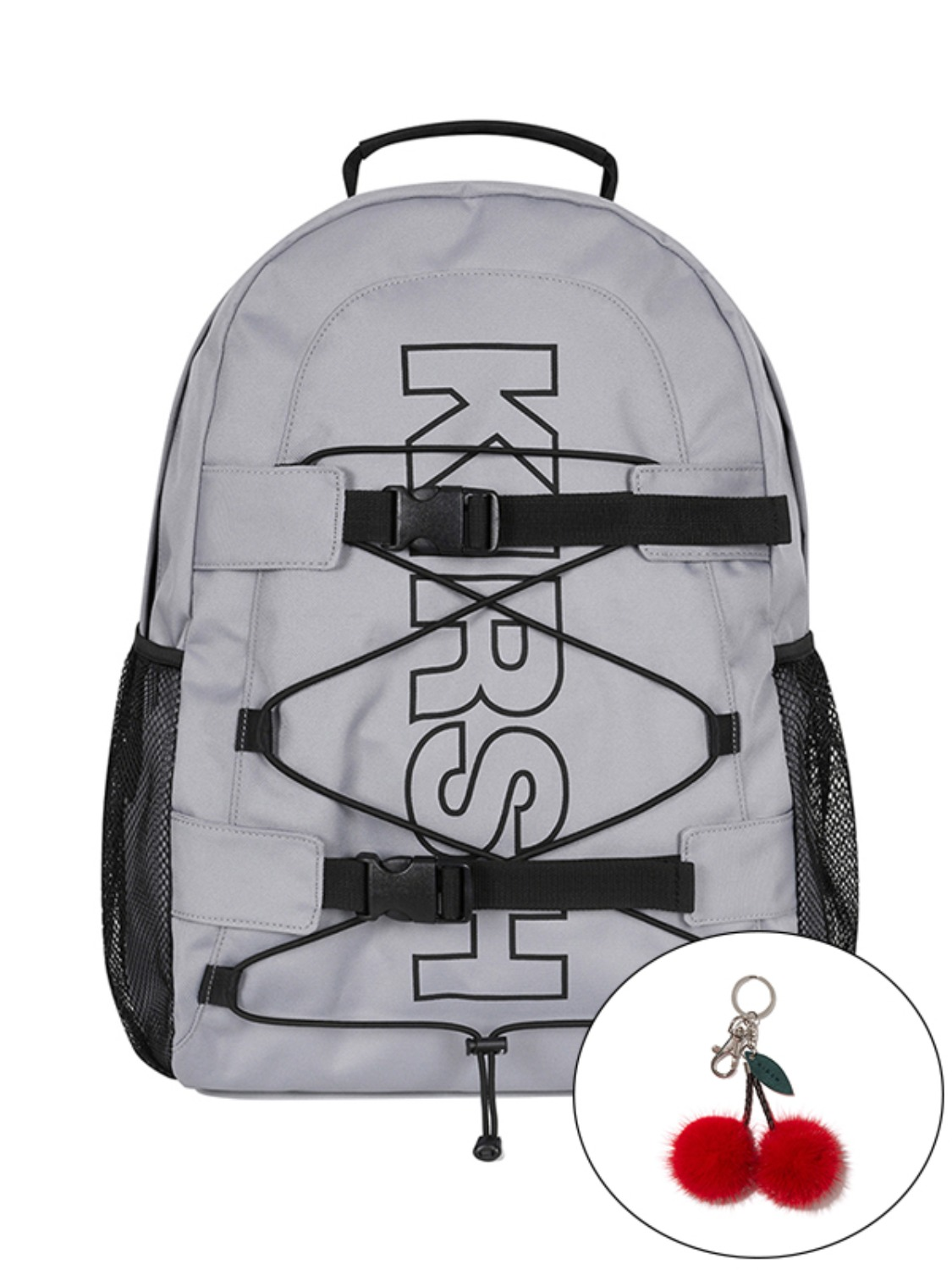 KIRSH POCKET SPORTS BACKPACK JA [GRAY]