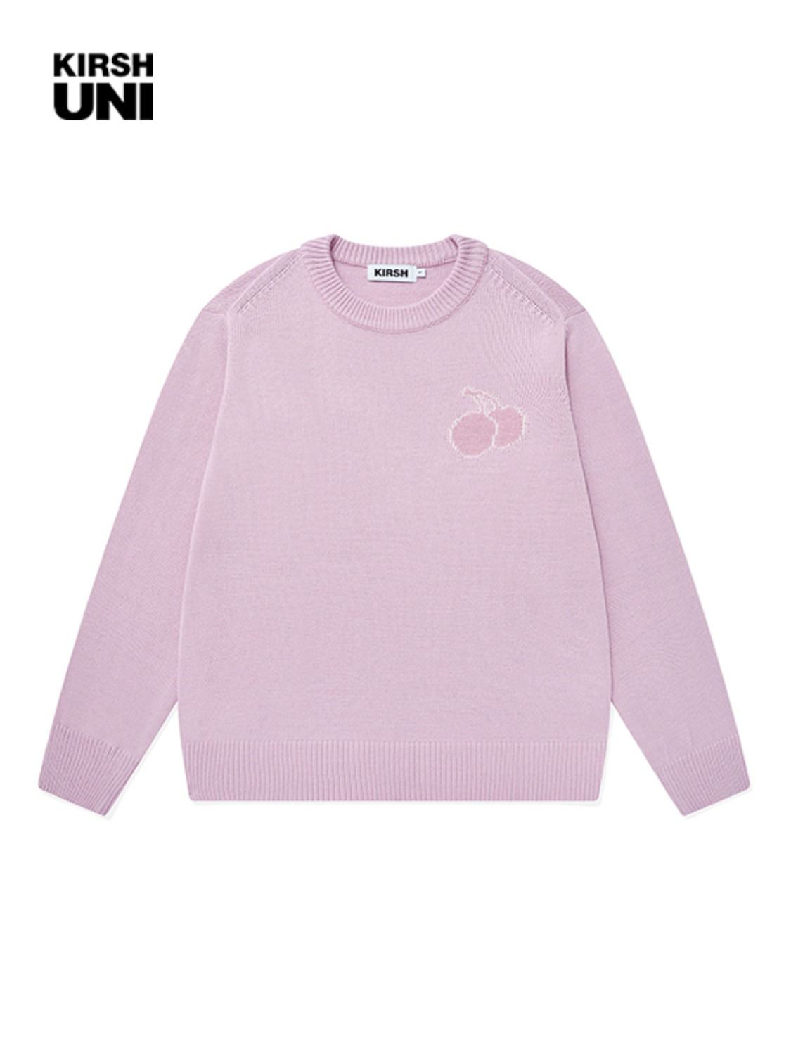 UNI TONE ON TONE MIDDLE CHERRY KNIT KS [PINK]