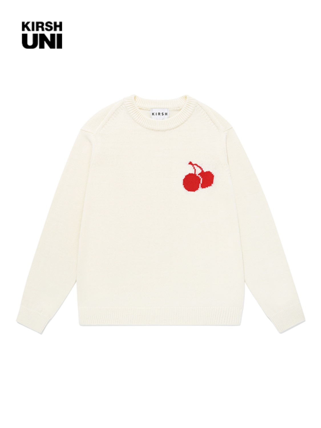 UNI MIDDLE CHERRY KNIT KS [CREAM]