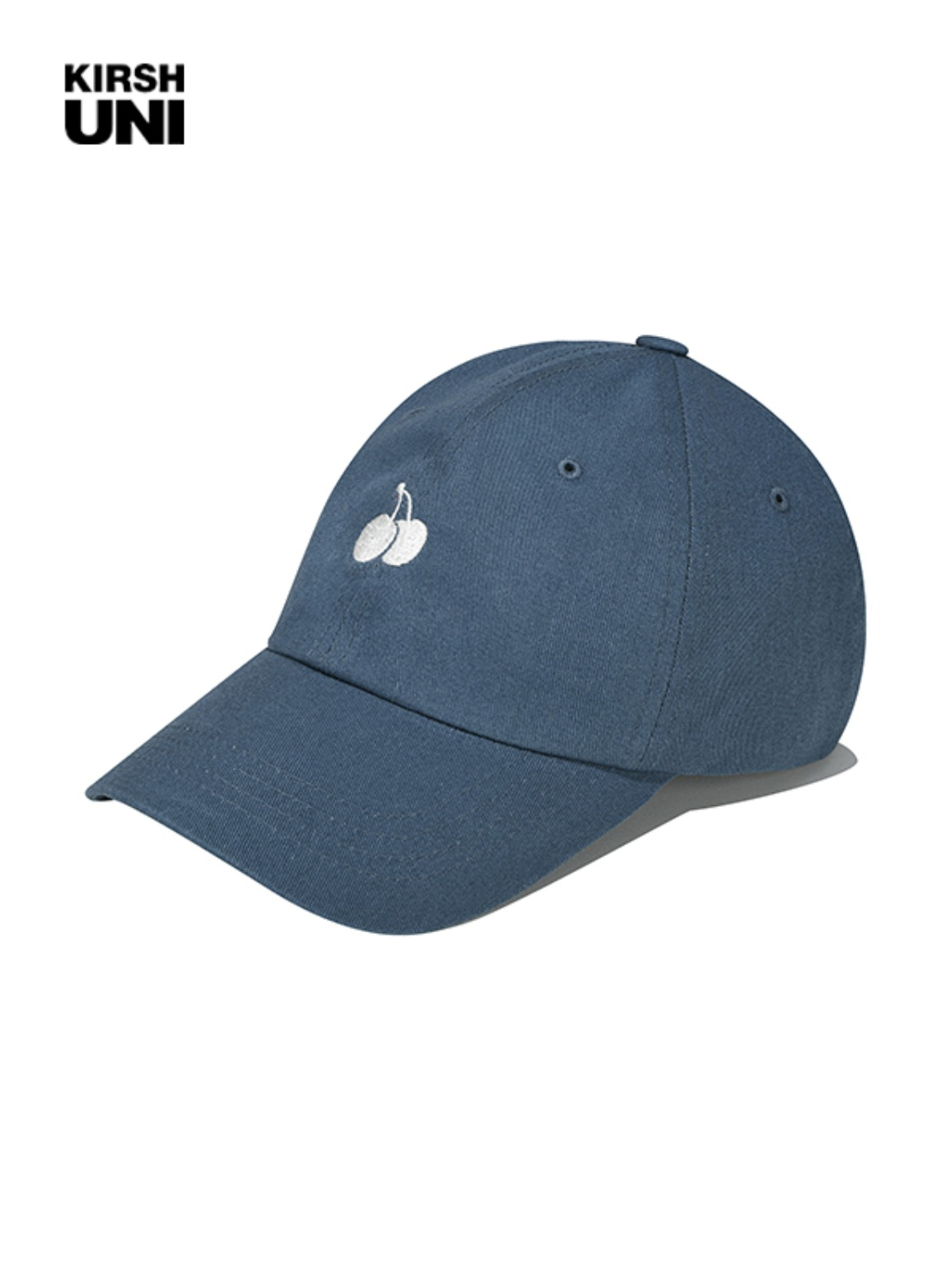 (2월 5일 예약발송)UNI SMALL CHERRY LOGO BALLCAP KS [INDIGO BLUE]