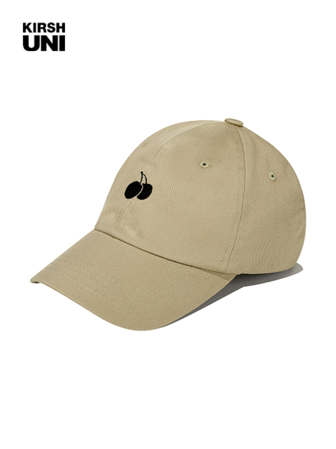 (2월 5일 예약발송)UNI SMALL CHERRY LOGO BALLCAP KS [BEIGE]
