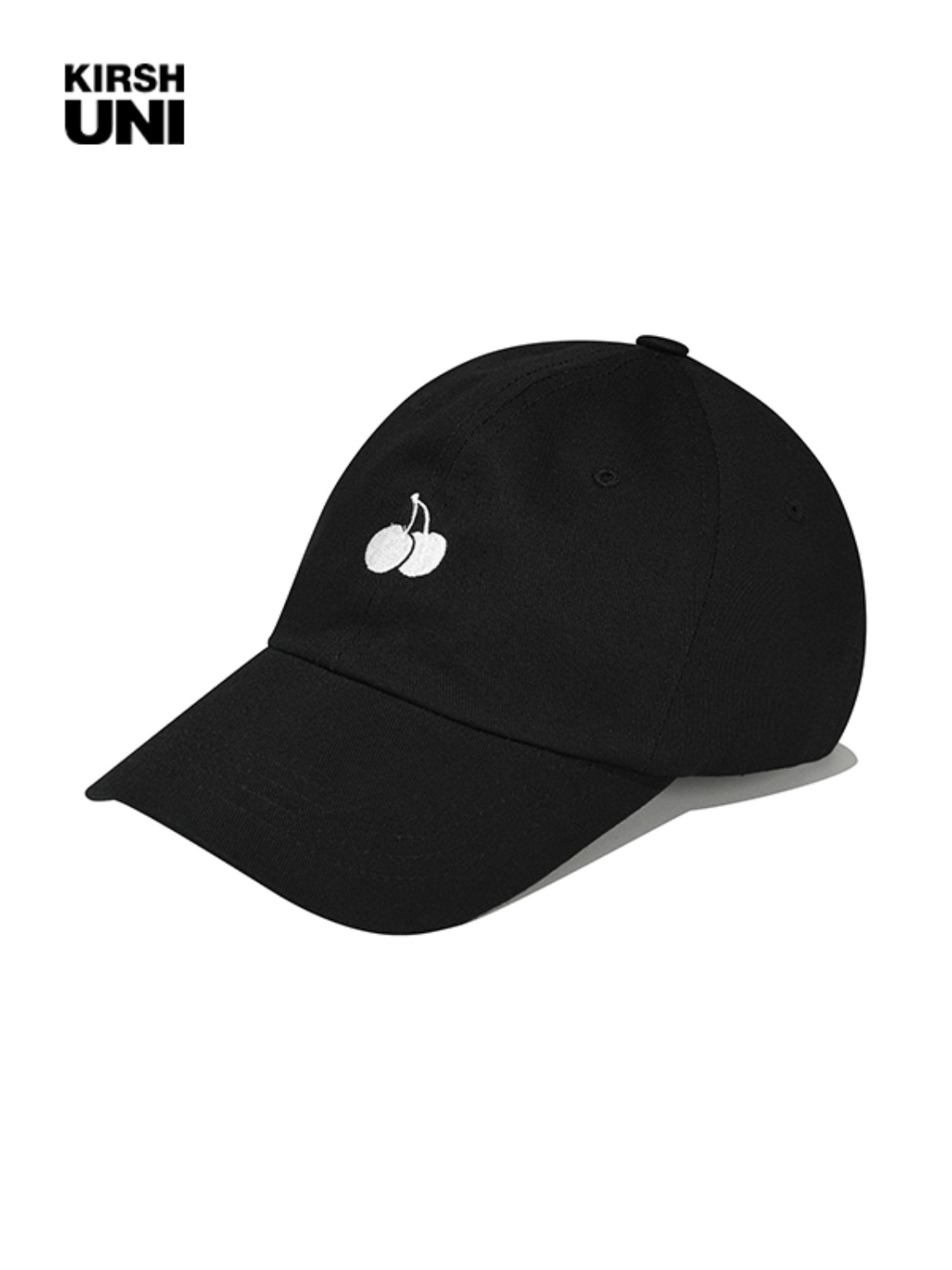 (2월 5일 예약발송)UNI SMALL CHERRY LOGO BALLCAP KS [BLACK]