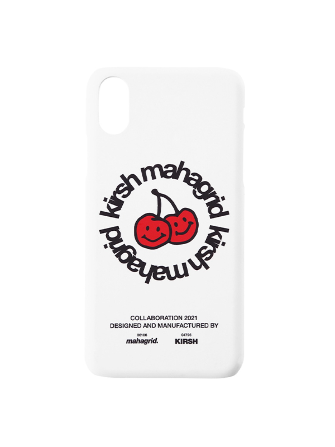 KIRSH X MAHAGRID IPHONE CASE [WHITE]