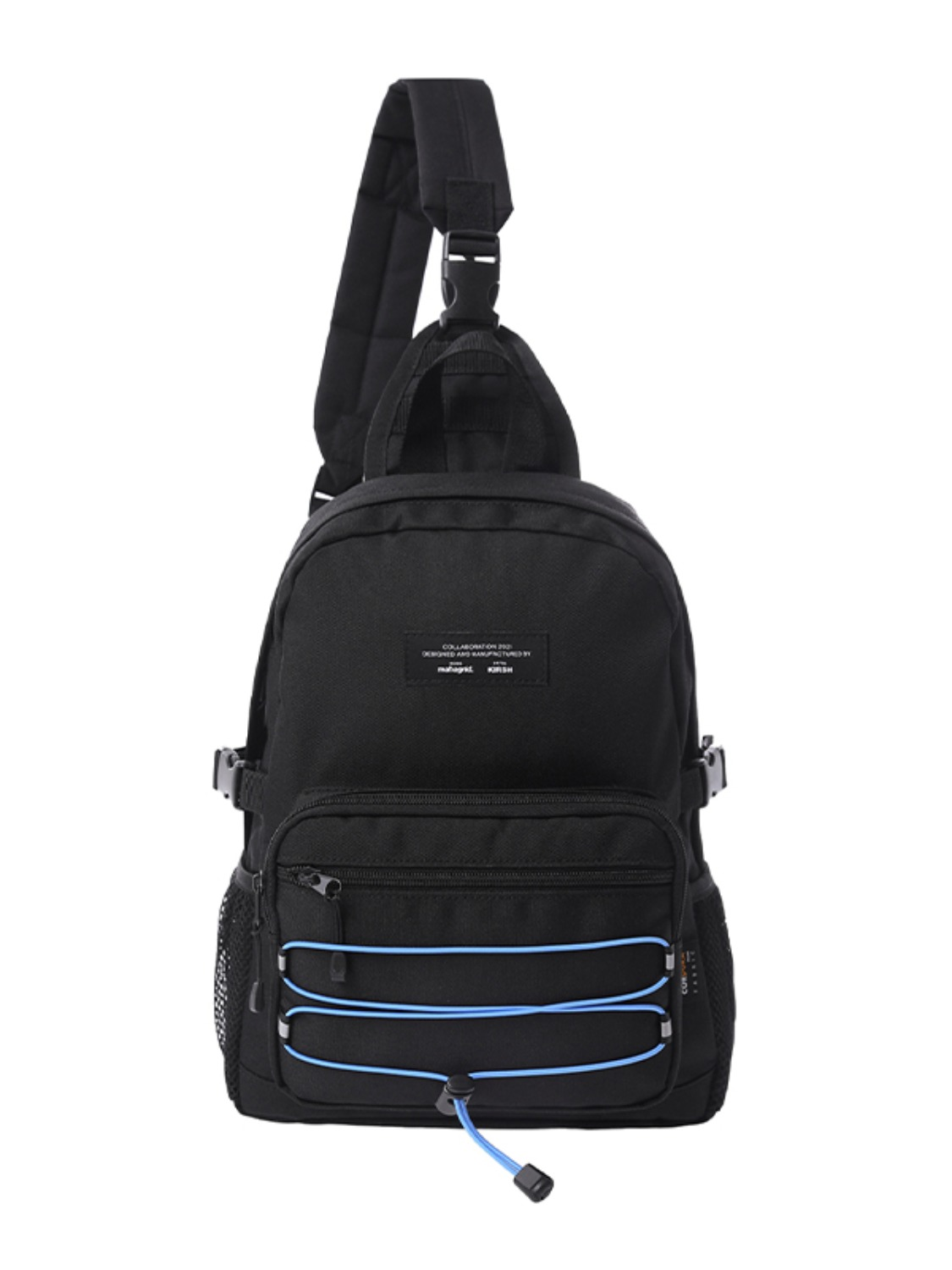 KIRSH X MAHAGRID STRING SLINGBAG [BLACK]