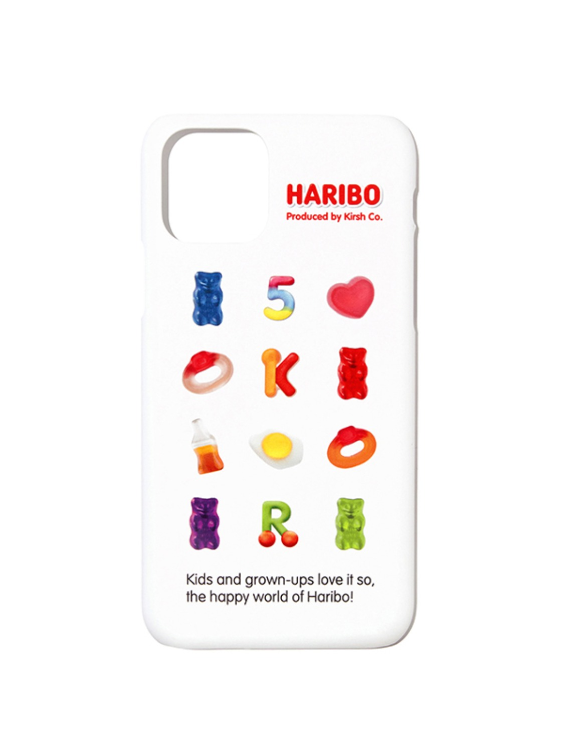 HARIBO GRAPHIC PHONE CASE [WHITE]