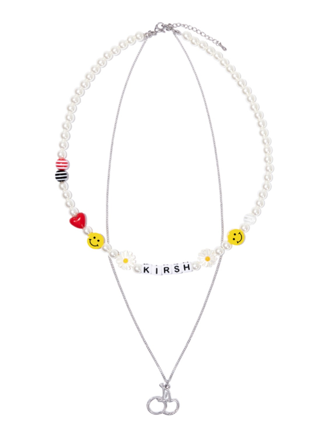 (4월 27일 예약발송)CHERRY BEADS NECKLACE KH [MULTI]